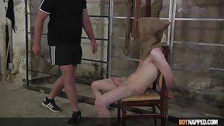 Nude twink receives proper dick and BDSM punishments be beneficial to being a naughty lad